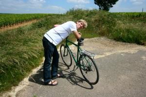 Joel with bike
