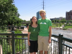 At Confluence Park