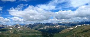 View from Mt Bierstadt