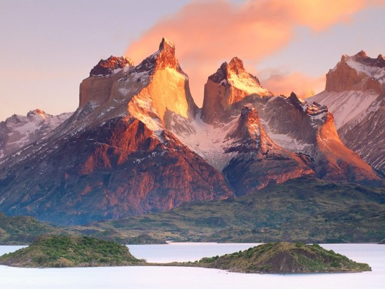 Our destination - Torres del Paine National Park (our pics won't look like this!)