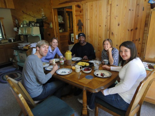 Some of our community group took a fun trip to Annie's family cabin in South Dakota over Memorial Day weekend