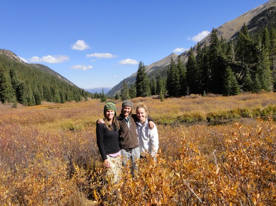 Guanella Pass provided one last chilly camping trip of the year with Sarah, Annie, and Patrick