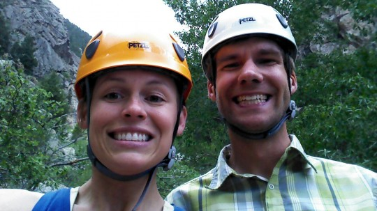 Although a little rusty, we brought out the old climbing gear a few times