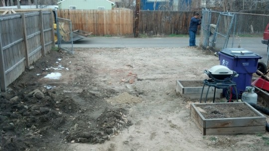 After we got the concrete removed the first time
