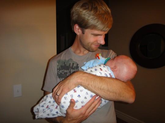 Joel with Luke