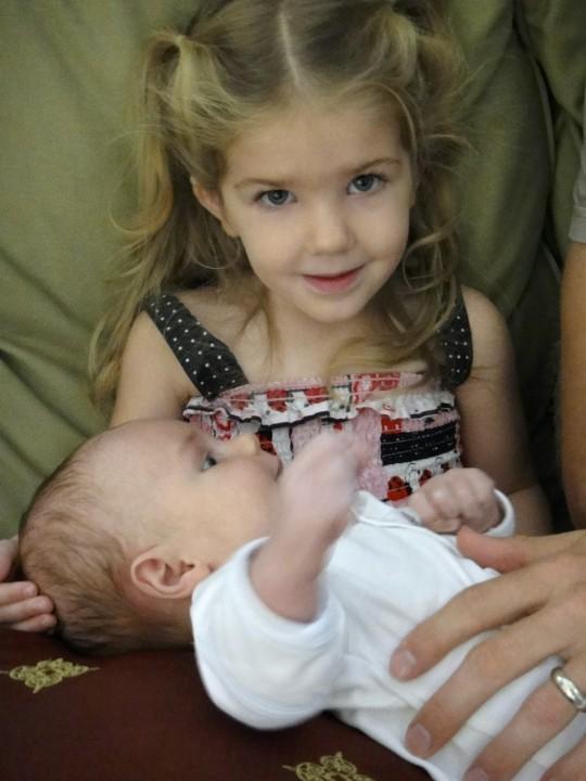Amelia with Noah