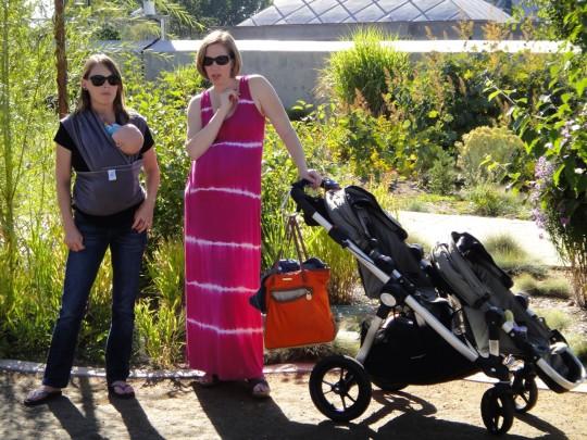 Erin & I at the botanic gardens