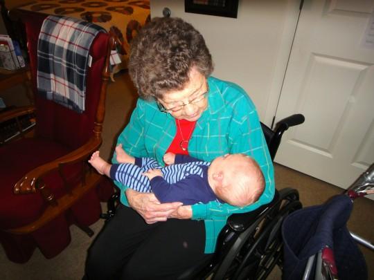 Grandmommy w/ Noah