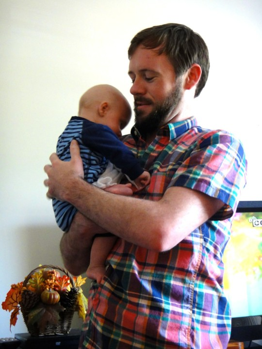 Uncle Adam w/ Luke